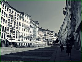 Plaza in Coimbra by AraujaPhoto