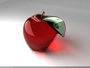 Glass Apple For Tutorial by lhnova - Bitmek Bilmeyen AvatarLar..