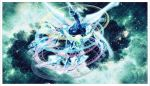 Shooting Quasar Dragon Playmat by yugipro