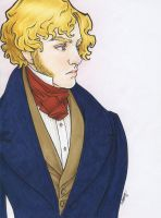 Enjolras In Blue by cillabub