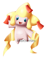 Pokemon - Shiny Jirachi