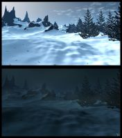 Winter Background Concept by Natal-ee-a