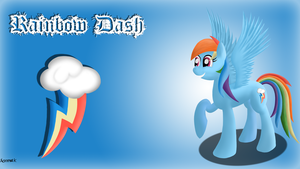 Rainbow Dash Wallpaper by xormak