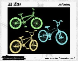 BMX Bikes Brushes .ABR by conzumir