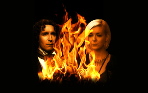 Eighth Doctor and Lucie Miller by Leda74