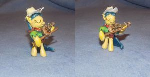 MLP FiM custom blindbag: Fiddlesticks! by vulpinedesigns