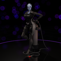 Liara T'Soni, Front Side by colortwist