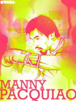 "Manny ""pac-man"" Pacquiao by ayongski"