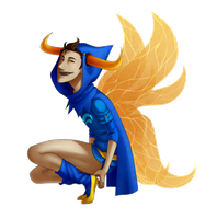 Tavros God Tier by chibs-panda
