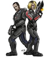 Here come the Shepard kids by GardHelset