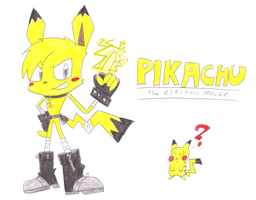 Pikachu (Sonic version) by sonic4ever760