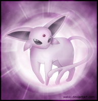 Meletea the Espeon by Wakki