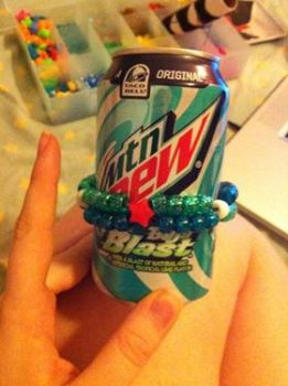 Baja Blast Mountain Dew Kandi by CrownPrincessLaya