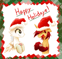 Happy Holidays by Vulpessentia