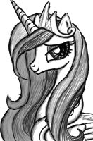 Portrait of Princess Mi Amore Cadenza by Lethal-Doorknob