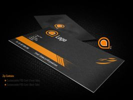 Clean Business Card Template by itsSnow