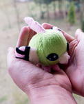 Natu inspired plush by mmmgaleryjka