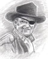 Rooster Cogburn by Andared