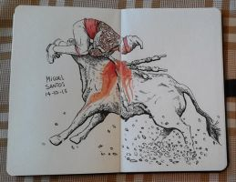 Inktober Day 14 by pictishscout