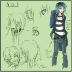 character sheet - aoi by Kioku-san