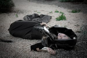 Like a corpse in desolation by TheOuroboros