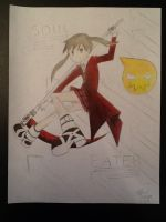 Maka Albarn revised by cousin by Kurofan4ever