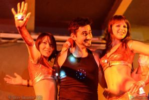 Ironettes and Tony Stark by xVenya