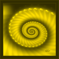 Yellow Spiral by baba49