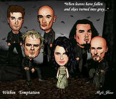 Within Temptation by RafaYazoo