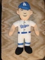 Clayton Kershaw Doll by Gamekirby