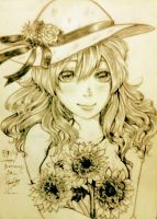 A Gift For You-sunflower by AmieeSha96