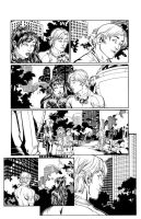 Runaways 30 page 22 inks by Csyeung