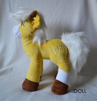 River 14 inch Horse Plush by dot-DOLL