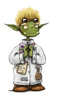Goblin Scientist by Plognark