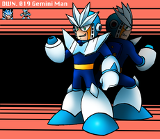 DWN. 019 Gemini Man by SonicKnight007