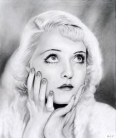 Bette Davis by MLS-art