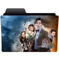 Folder icon Doctor Who series 6 (Smith) by NonStopSarah