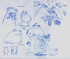 Adventure Time cover concepts by dfridolfs