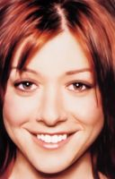 Portrait Of Alyson Hannigan by iamlame