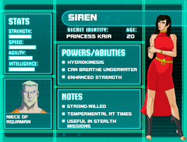 YJ Profile: Siren by tifafenrir09