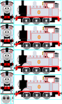 Timothy the Ghost Engine by Cj-The-Creator