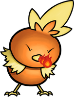 Flaming Chicken by TheSerotonin