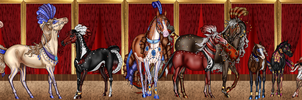 The Cabaret Show: His pretty ponies by DatNachtmaehre