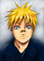 young naruto coloring version by Alexiel50