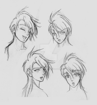 Rowen's Expression Guide by Dreyce