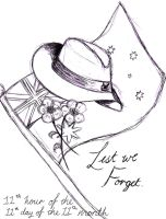 Remembrance Day-Lest We Forget by smileys-4-eva