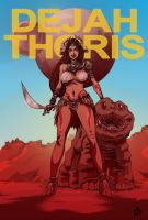 John Carter DEJAH THORIS by jasinmartin