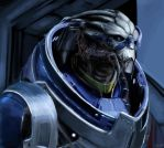 Garrus (Study) by Jackburned