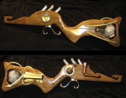 Steampunk Rifle WIP 3 by obi-wan8403