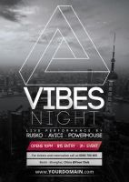 Vibes Night - Flyer [Vol.20] by VectorMediaGR